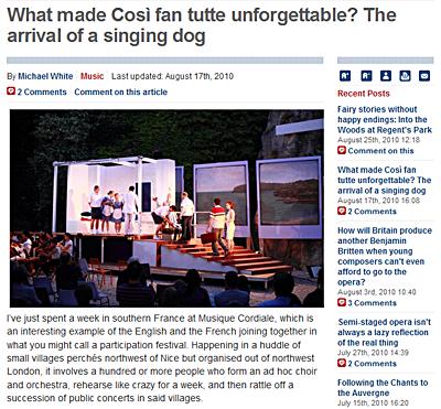 Musique Cordiale telegraph_2010_review