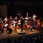 L'orchestre se prépare pour Tosca à Fayence