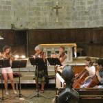 Dress rehearsal for the strings concert